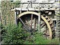 NY3704 : Waterwheel, Ambleside by Chris Allen
