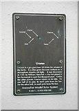 NO5603 : Anstruther Model Solar System: Uranus by Richard Sutcliffe