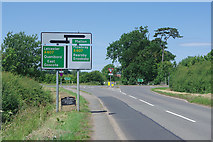SK6513 : Gaddesby Lane approaching the A607 by Stephen McKay