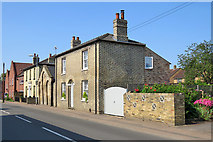 TL4568 : Cottenham: High Street houses by John Sutton