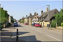 TL4568 : Cottenham High Street on a June morning by John Sutton