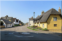TL4568 : Cottenham: the north end of High Street by John Sutton
