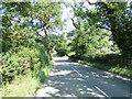 TM1957 : B1079 Helmingham Road, Helmingham by Geographer