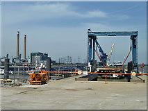 TQ6674 : Denton Wharf by Robin Webster
