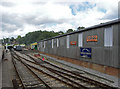 TQ3729 : Bluebell Railway - carriage and wagon works by Chris Allen