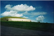 O0072 : Newgrange Passage Tomb, County Meath by Stanley Howe