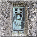D4201 : Flush Bracket, Ballylumford Triangulation Pillar by Rossographer