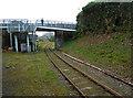 SX0766 : Bodmin & Wenford Railway - Beacon Road Bridge by Chris Allen