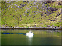 NG4819 : Our ferry for Elgol arriving at Coruisk by John Lucas