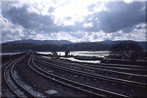 SH5738 : Porthmadog Harbour Station by Richard Webb