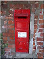 TG1319 : Church Lane Victorian Postbox by Adrian Cable