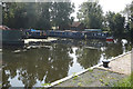 SE7544 : Moorings at Melbourne Branch, Pocklington Canal by Ian S
