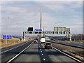 NT1178 : M90 at Queensferry Crossing Bridge by David Dixon