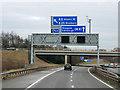NT1174 : Eastbound M9 at Kirkliston by David Dixon