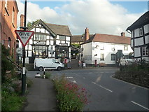 SO3958 : Ye Olde Steppes and the Red Lion Inn (Pembridge) by Fabian Musto