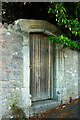 SX9263 : Doorway in wall, Hesketh Road by Derek Harper