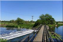 SK5815 : Footbridge 23A, River Soar Canal by Tim Heaton