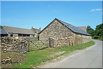 SP3114 : Buildings at Buttermilk Farm by Des Blenkinsopp