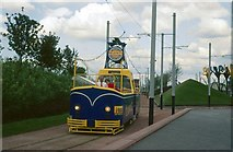NS5764 : Trams at Glasgow Garden Festival, 1988 – 3 by Alan Murray-Rust