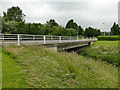 SE2731 : Bridge over Wortley Beck, City West, Leeds by Stephen Craven