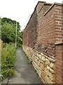 SE2731 : Perimeter wall of Balks House by Stephen Craven