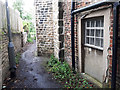 SE2633 : Path behind Hawthorn Cottage, Armley by Stephen Craven