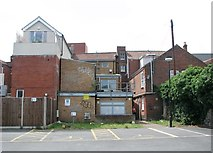 TG2309 : The rear of houses in Magdalen Street by Evelyn Simak