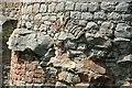 SJ5359 : Bricked up window in the Inner Gatehouse of Beeston Castle by Jeff Buck