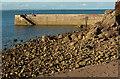 SX9365 : Breakwater, Babbacombe Beach by Derek Harper