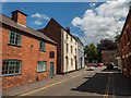 SK3616 : Lower Church Street, Ashby-de-la-Zouch by Oliver Mills