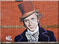 SJ9295 : Willy Wonka in his Felt Hat by David Dixon