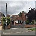 SP2965 : Front garden, George Road, Warwick by Robin Stott