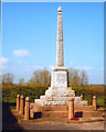 SK2503 : Great War Memorial, Pooley Hall Colliery near Polesworth by Peter Warrilow