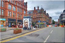 SJ8498 : Pedestrianisation of Stevenson Square, July 2020 by David Dixon