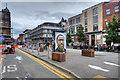 SJ8498 : Stevenson Square, Temporary Pedestrianisation July 2020 by David Dixon