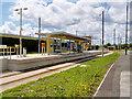 SJ7796 : Metrolink Terminus, intu Trafford Centre by David Dixon