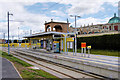 SJ7796 : intu Trafford Centre Tram Stop by David Dixon