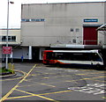 ST2995 : Red for danger in Cwmbran bus station by Jaggery
