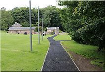 NS2209 : Path to the Aviary, Culzean Country Park by Billy McCrorie