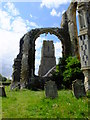 TM5281 : The ruins of Covehithe Church by Chris Holifield