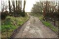 SS9534 : Bridleway near Higher Thorn Close by Derek Harper
