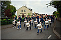H4672 : Pre 12th July Band parade at Crevenagh Way, Omagh by Kenneth  Allen