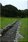 NY3404 : Stream into Loughrigg Tarn by DS Pugh