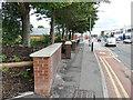 SE3033 : Segmented brick wall, Regent Street, Leeds by Stephen Craven
