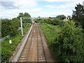 SK4394 : Rotherham Road railway station (site), Yorkshire by Nigel Thompson