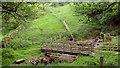 NZ0502 : Footbridge over Shaw Beck by Andy Waddington