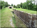SU0399 : Former canal lock at Siddington by Malc McDonald