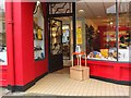 NT2540 : Shoe shop entrance, Peebles by Jim Barton