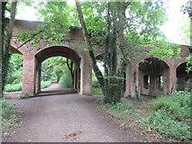 SU0597 : Old railway path, South Cerney by Malc McDonald