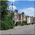 TL4656 : Cherry Hinton Road: villas and a stench pipe by John Sutton